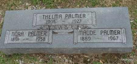 PALMER, MAUDE - Benton County, Arkansas | MAUDE PALMER - Arkansas Gravestone Photos