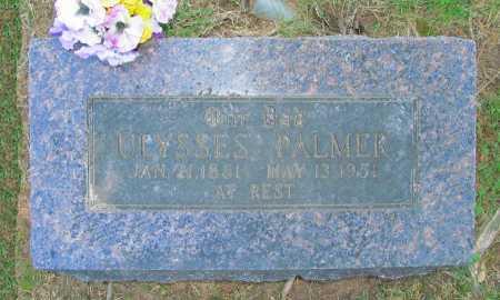 PALMER, ULYSSES - Benton County, Arkansas   ULYSSES PALMER - Arkansas Gravestone Photos