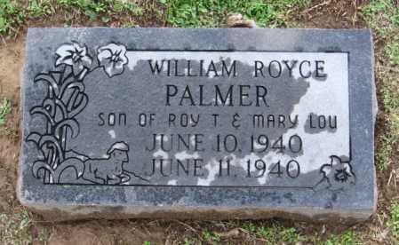 PALMER, WILLIAM ROYCE - Benton County, Arkansas | WILLIAM ROYCE PALMER - Arkansas Gravestone Photos