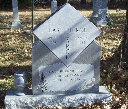 PEARCE, EARL PIERCE - Benton County, Arkansas | EARL PIERCE PEARCE - Arkansas Gravestone Photos