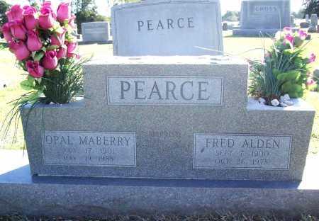 PEARCE, FRED ALDEN - Benton County, Arkansas | FRED ALDEN PEARCE - Arkansas Gravestone Photos