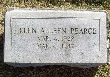 PEARCE, HELEN ALLEEN - Benton County, Arkansas | HELEN ALLEEN PEARCE - Arkansas Gravestone Photos