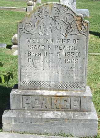 PEARCE, MELTINA - Benton County, Arkansas   MELTINA PEARCE - Arkansas Gravestone Photos