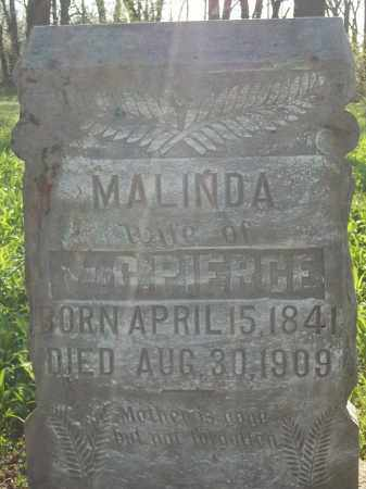 PEARCE, MALINDA - Benton County, Arkansas | MALINDA PEARCE - Arkansas Gravestone Photos