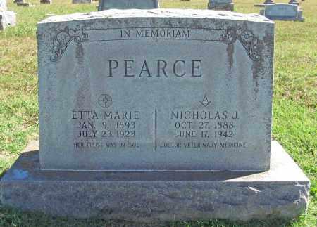 PEARCE, ETTA MARIE - Benton County, Arkansas | ETTA MARIE PEARCE - Arkansas Gravestone Photos
