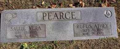 PEARCE, SALLIE VERA - Benton County, Arkansas | SALLIE VERA PEARCE - Arkansas Gravestone Photos