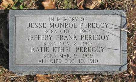 PEREGOY, JESSE MONROE - Benton County, Arkansas | JESSE MONROE PEREGOY - Arkansas Gravestone Photos