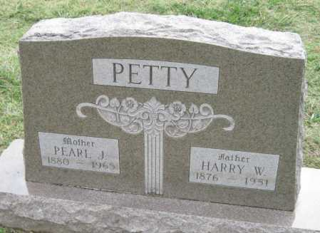 PETTY, HARRY W. - Benton County, Arkansas | HARRY W. PETTY - Arkansas Gravestone Photos