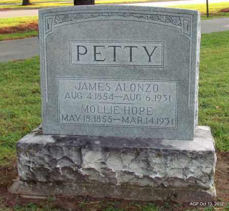 PETTY, MOLLIE HOPE - Benton County, Arkansas | MOLLIE HOPE PETTY - Arkansas Gravestone Photos