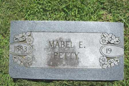 PETTY, MABEL E. - Benton County, Arkansas | MABEL E. PETTY - Arkansas Gravestone Photos