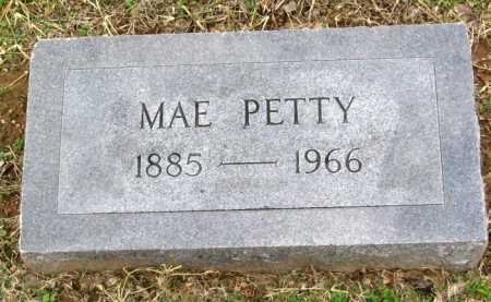 PETTY, MAE - Benton County, Arkansas   MAE PETTY - Arkansas Gravestone Photos