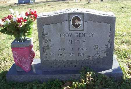 PETTY, TROY KENTLY - Benton County, Arkansas   TROY KENTLY PETTY - Arkansas Gravestone Photos