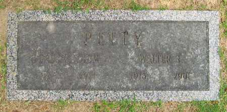 PETTY, WALTER T - Benton County, Arkansas | WALTER T PETTY - Arkansas Gravestone Photos