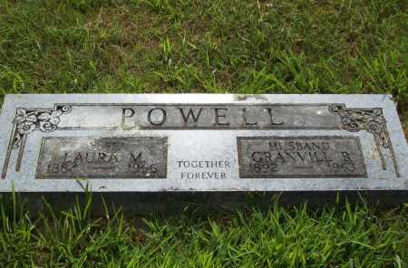 POWELL, LAURA M. - Benton County, Arkansas | LAURA M. POWELL - Arkansas Gravestone Photos
