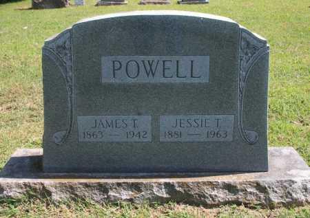 POWELL, JESSIE T. - Benton County, Arkansas | JESSIE T. POWELL - Arkansas Gravestone Photos