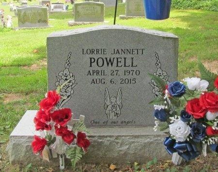 POWELL, LORRIE JANNETT - Benton County, Arkansas | LORRIE JANNETT POWELL - Arkansas Gravestone Photos