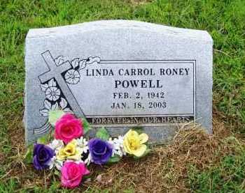 POWELL, LINDA CARROL - Benton County, Arkansas | LINDA CARROL POWELL - Arkansas Gravestone Photos