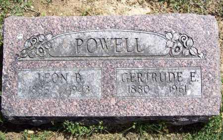 POWELL, GERTRUDE E. - Benton County, Arkansas | GERTRUDE E. POWELL - Arkansas Gravestone Photos