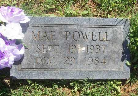 POWELL, MAE - Benton County, Arkansas   MAE POWELL - Arkansas Gravestone Photos