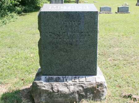 POWELL, MATTIE - Benton County, Arkansas | MATTIE POWELL - Arkansas Gravestone Photos