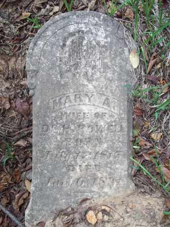 POWELL, MARY ANN - Benton County, Arkansas   MARY ANN POWELL - Arkansas Gravestone Photos