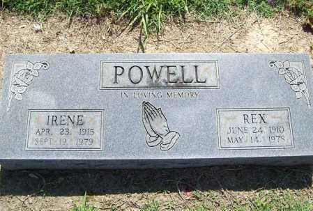 POWELL, IRENE - Benton County, Arkansas | IRENE POWELL - Arkansas Gravestone Photos