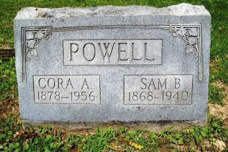 POWELL, CORA A. - Benton County, Arkansas   CORA A. POWELL - Arkansas Gravestone Photos