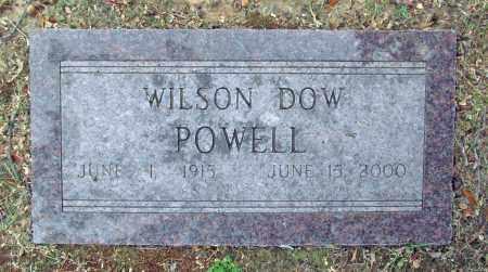 POWELL, WILSON DOW - Benton County, Arkansas   WILSON DOW POWELL - Arkansas Gravestone Photos
