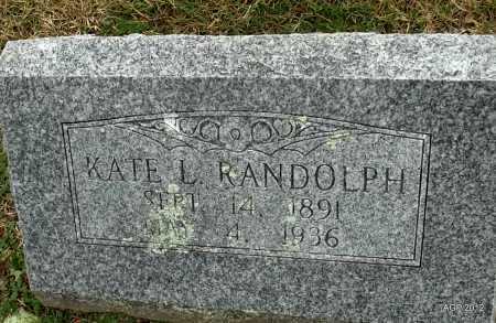 RANDOLPH, KATE LEE - Benton County, Arkansas | KATE LEE RANDOLPH - Arkansas Gravestone Photos