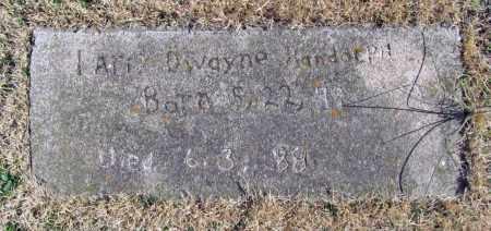 RANDOLPH, LARRY DWAYNE - Benton County, Arkansas | LARRY DWAYNE RANDOLPH - Arkansas Gravestone Photos