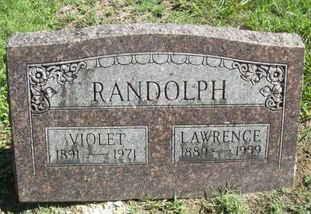 RANDOLPH, LAWRENCE - Benton County, Arkansas | LAWRENCE RANDOLPH - Arkansas Gravestone Photos
