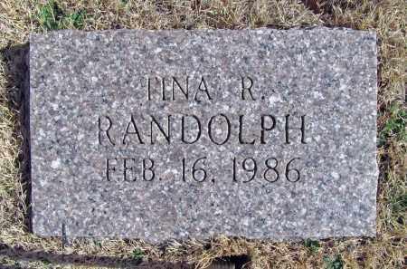 RANDOLPH, TINA R - Benton County, Arkansas   TINA R RANDOLPH - Arkansas Gravestone Photos