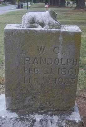 RANDOLPH, W. C. - Benton County, Arkansas | W. C. RANDOLPH - Arkansas Gravestone Photos