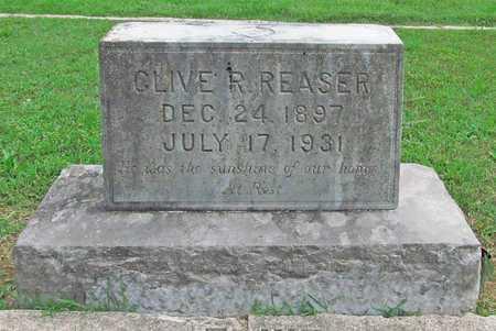 REASER, CLIVE R - Benton County, Arkansas   CLIVE R REASER - Arkansas Gravestone Photos