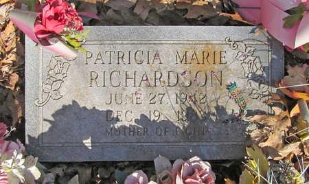 RICHARDSON, PATRICIA MARIE - Benton County, Arkansas | PATRICIA MARIE RICHARDSON - Arkansas Gravestone Photos