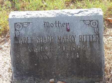 SHARP MABRY, MABLE - Benton County, Arkansas | MABLE SHARP MABRY - Arkansas Gravestone Photos