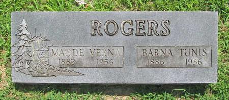 ROGERS, BARNA TUNIS - Benton County, Arkansas | BARNA TUNIS ROGERS - Arkansas Gravestone Photos