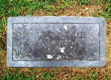 ROGERS, CLARA BILLIE - Benton County, Arkansas   CLARA BILLIE ROGERS - Arkansas Gravestone Photos