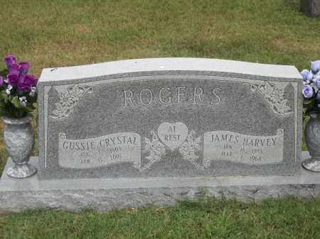 ROGERS, JAMES HARVEY - Benton County, Arkansas | JAMES HARVEY ROGERS - Arkansas Gravestone Photos