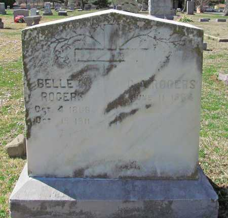 ROGERS, G A - Benton County, Arkansas   G A ROGERS - Arkansas Gravestone Photos