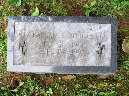 ROGERS, HARLAN E. - Benton County, Arkansas | HARLAN E. ROGERS - Arkansas Gravestone Photos