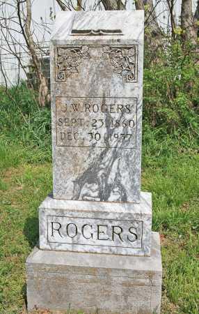 ROGERS, J. W. - Benton County, Arkansas | J. W. ROGERS - Arkansas Gravestone Photos