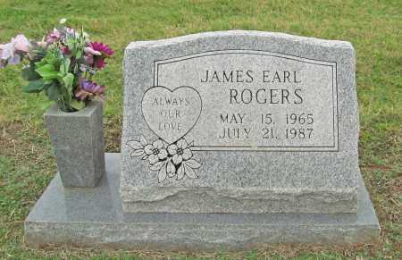 ROGERS, JAMES EARL - Benton County, Arkansas | JAMES EARL ROGERS - Arkansas Gravestone Photos