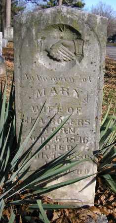 ROGERS, MARY - Benton County, Arkansas   MARY ROGERS - Arkansas Gravestone Photos