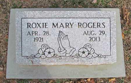 ROGERS, ROXIE MARY - Benton County, Arkansas   ROXIE MARY ROGERS - Arkansas Gravestone Photos