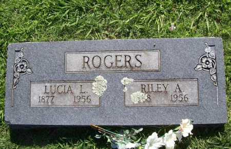 ROGERS, LUCIA L. - Benton County, Arkansas | LUCIA L. ROGERS - Arkansas Gravestone Photos