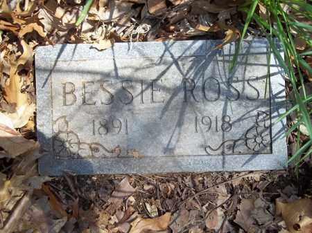 ROSS, BESSIE - Benton County, Arkansas | BESSIE ROSS - Arkansas Gravestone Photos