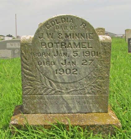 ROTRAMEL, GOLDIA R - Benton County, Arkansas | GOLDIA R ROTRAMEL - Arkansas Gravestone Photos
