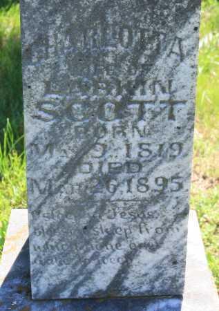 SCOTT, CHARLOTTA (CLOSEUP) - Benton County, Arkansas   CHARLOTTA (CLOSEUP) SCOTT - Arkansas Gravestone Photos