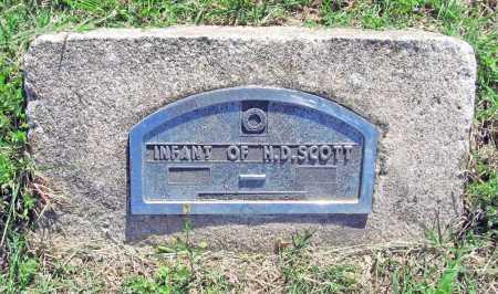 SCOTT, INFANT - Benton County, Arkansas | INFANT SCOTT - Arkansas Gravestone Photos